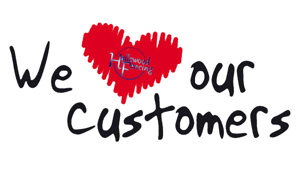 we love our fencing customers and offer superior fencing services in derbyshire